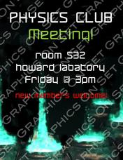 Physics Club Meeting