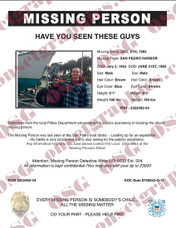 MISSING PERSON 13