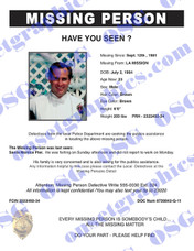 MISSING PERSON 14