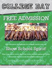 College Fair Day Flyer