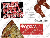 Pizza Party Flyer
