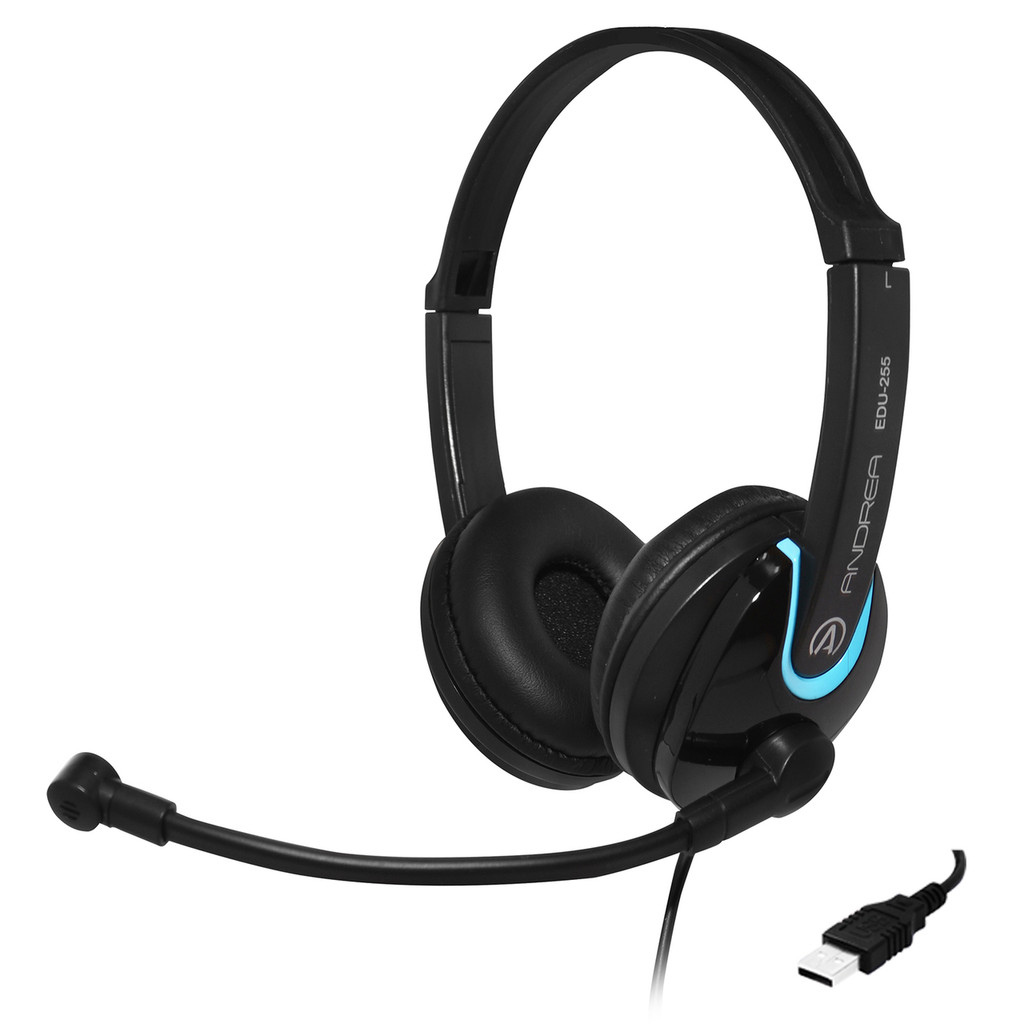EDU-255 USB On-Ear Stereo Headset