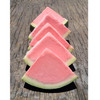 Watermelon Puree Sorbet Wedge, made from real fruit, served in its original shell!