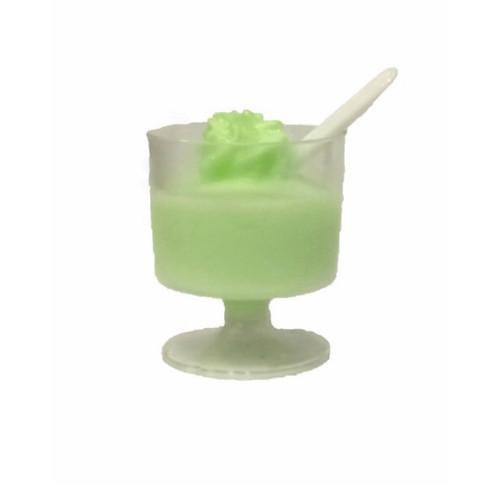 Mini Green Apple Puree Sorbet Sundae Cup, made with real Green Apple!