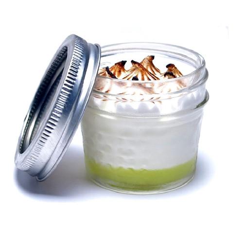 Mousse Mason Jars - Lemon Meringue - 9 Per Box