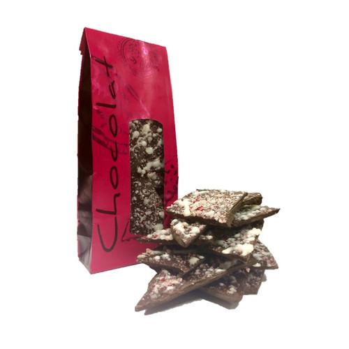 Chocolate Bark - Peppermint - 9 oz Bag