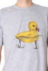 Men | Go Duck Yourself Tee (Grey) - Solifornia