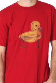 Men| Go Duck Yourself Tee (Red) - Solifornia