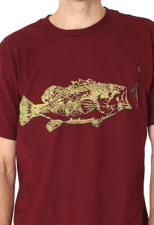 Men | Chill Like A fish (Burgundy) - Solifornia