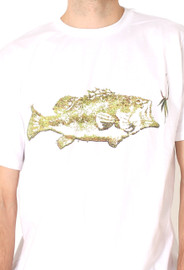 Men | Chill Like A Fish Tee (White) - Solifornia