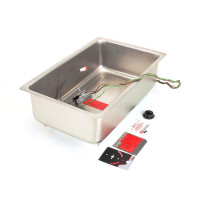 APW (American Permanent Ware) 55320 PAN WITH DRAIN