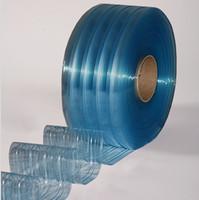 "12"" Freezer Ribbed Strip Curtain Bulk Roll"