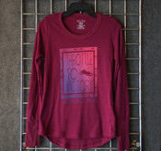 "CBR ""Throttle to Victory"" Thermal Maroon"