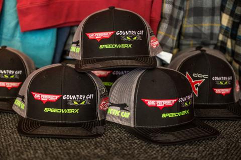 Racer Sponsor Caps
