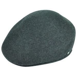 Block Headwear Newsboy Brand Gatsby Cabbie Classic Wool Grey Fitted Large Hat