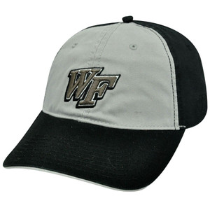 NCAA WAKE FOREST DEMON DEACONS BLACK COTTON HAT CAP