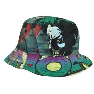 Joker Villain Batman Dye Sublimated Print Cartoon Comic Book Sun Bucket Youth
