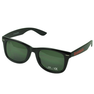 NCAA Arkansas Razorbacks Wayfarer Style Shade Sunglasses Glasses Black Plastic