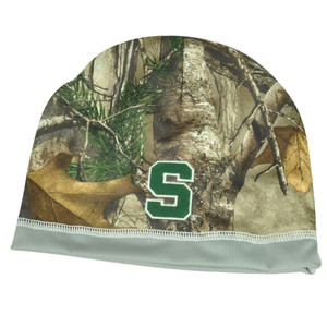 NCAA Michigan State Spartans Camouflage Camo Realtree Reversible Knit Beanie