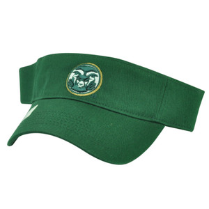NCAA Colorado State Rams Top of the World Green Sun Visor Hat Adjustable Sport