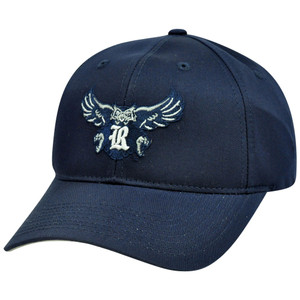 NCAA Rice Owls Mascot Logo Adult Small Adjustable Velcro Hat Cap Cotton