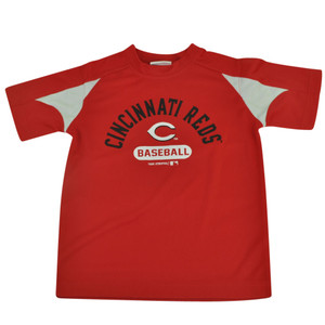 MLB Cincinnati Reds Gotham Youth Boy Tshirt Tee Baseball Sport Fan Short Sleeve
