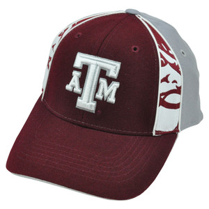 NCAA Texas A&M Aggies Constructed Velcro Hat Cap Adjustable Top of The World
