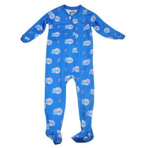 NBA UNK Los Angeles Clippers Toddler Footed Pajamas Bodysuit Zipper Sleepwear
