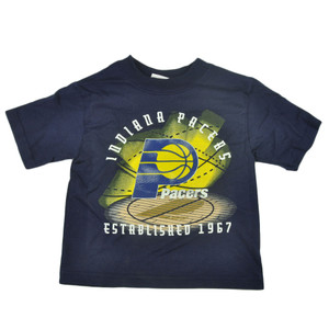 NBA Indiana Pacers Toddler Boys Establishment Basketball Tshirt Tee Navy
