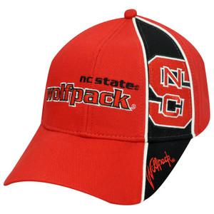 NCAA NORTH CAROLINA STATE WOLFPACK RED BLACK HAT CAP