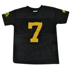 NCAA Iowa Hawkeyes Mayacamus Jr Youth Size Jersey 7 Black Shirt Football