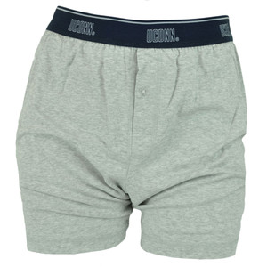 NCAA Connecticut UConn Huskies Mens Boxer Shorts Under Wear Briefs Grey