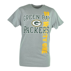 NFL Green Bay Packers Haywood 19 Twenty One Football Mens Grey Tshirt Tee