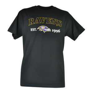 NFL Baltimore Ravens Commissioner EST 1996 Football Mens Tshirt Shirt Tee
