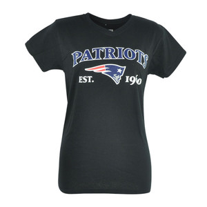 NFL New England Patriots Commissioner Women Ladies Football Tshirt Tee
