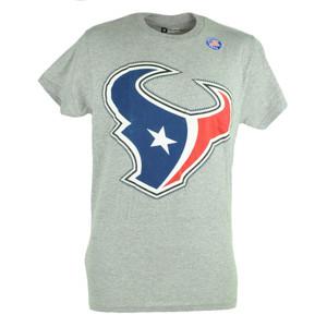 NFL Houston Texans Sloan Football Grey Mens Tshirt Tee Team Fan Shirt
