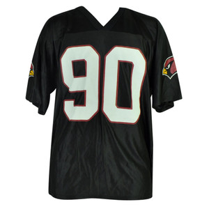 NFL Arizona Cardinals Cards 008 Banbury 90 D Dockett Black Jersey Mens