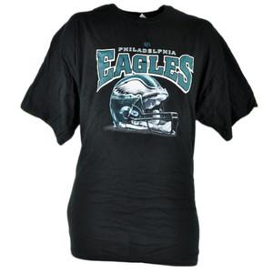 NFL Philadelphia Eagles Tshirt Cup 2 Piece Set Black Shirt Tee Mug Football