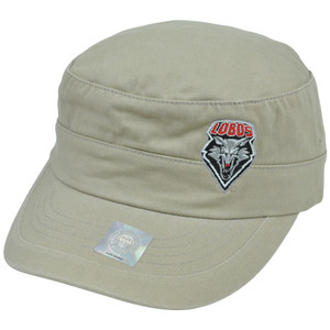 NCAA New Mexico Lobos Fatigue Military Hat Cadet Cap Adjustable Top of the World