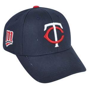 MLB Fan Favorite Minnesota Twins Dalrymple Baseball Adjustable Velcro Hat Cap
