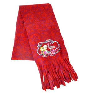 Disney Frozen Anna Elsa Movie Girls Youth Sisters Forever Scarf Fleece One Size