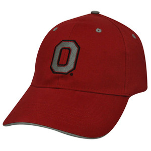NCAA OFFICIAL OHIO STATE BUCKEYES RED COTTON HAT CAP