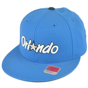 NBA Mitchell Ness TK40 Orlando Magic Blue Alternate Fitted Hat Cap