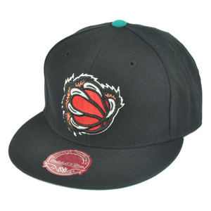 NBA Mitchell Ness TK40 Memphis Grizzlies Black Alternate Fitted Hat Cap