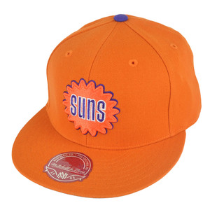 NBA Mitchell Ness TK07 Phoenix Suns Team Second Fitted Hat Cap
