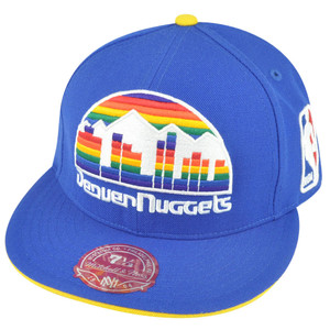 NBA Mitchell Ness Denver Nuggets TS51 Team Preferred Fitted Hat Cap