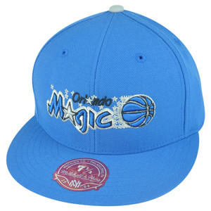 NBA Mitchell Ness Orlando Magic TY46 Third Alternate Logo Fitted Hat Cap
