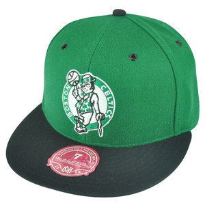 NBA Mitchell Ness Boston Celtics TT29 2-Tone Fitted Hat Cap