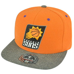 NBA Mitchell Ness Phoenix Suns G164 Donegal Visor Fitted Hat Cap