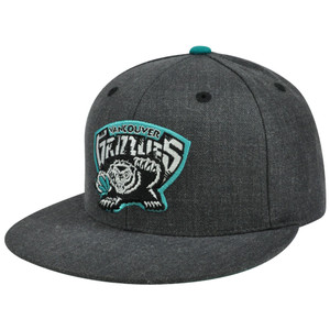 NBA Mitchell & Ness TX59 Heather Wool Memphis Grizzlies Fitted Hat Cap